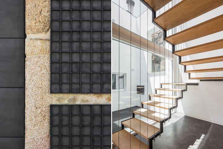 JA House, Guarda, Portugal Program: single-family house Architects: Filipe Pina + Maria Inês Costa Area: 260 sqm Completion: 2014
