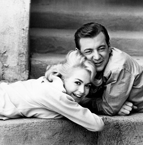 Bobby Darin and Sandra Dee by Leo Fuchs, 1962