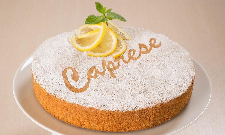 Ricetta Torta caprese al limone - Paneangeli