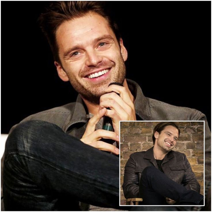 Two of my favorite pictures of Sebastian ⭐️ Stan