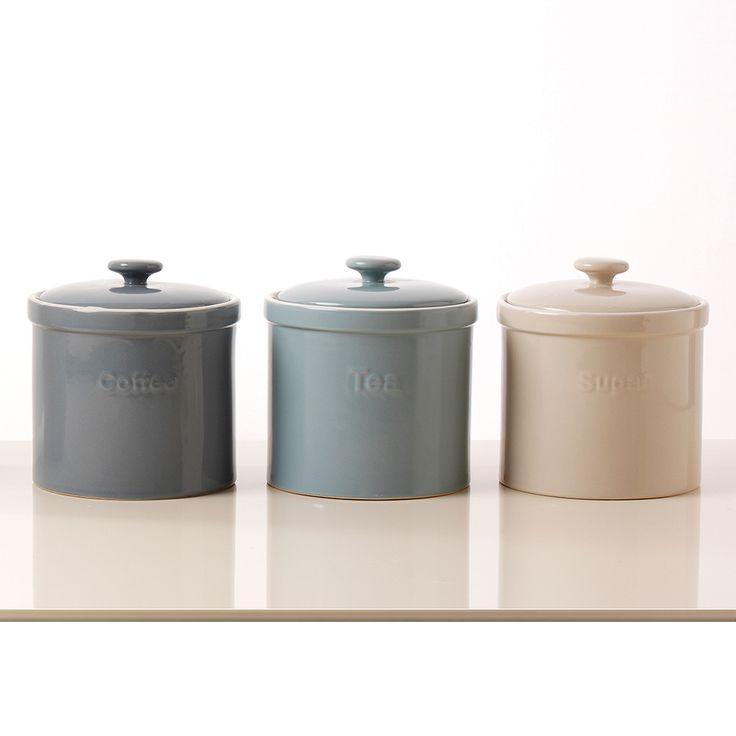 Sage Green Kitchen Storage Jars: 25+ Best Ideas About Tea Coffee Sugar Jars On Pinterest