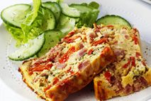 Ham and egg loaf - Recipes - Slimming World