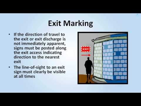▶ Exit Routes, Emergency Action Plans, Fire Prevention Plans, and Fire Protection - YouTube