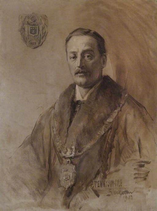 Charles Richard John Spencer-Churchill (1871–1934), 9th Duke of Marlborough by (1907) artist Philip Tennyson Cole, 86 x 69 cm