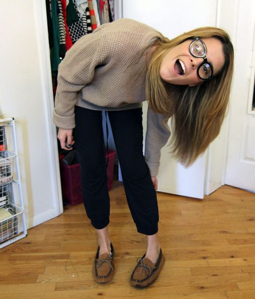 Grace Helbig, why she be so cute and funny!