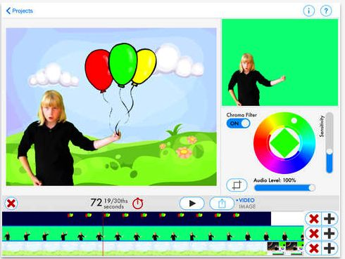 3 Powerful Apps for Creating Green Screen Videos with Students ~ Educational Technology and Mobile Learning