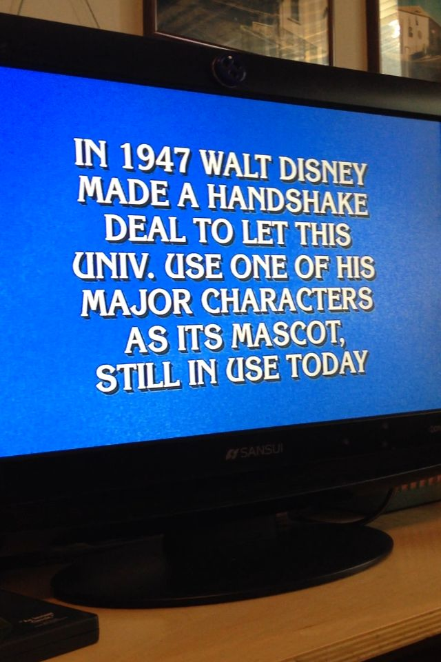 Jeopardy Question - Answer: The University of Oregon - The Oregon Ducks FROM: http://media-cache-ak0.pinimg.com/originals/a8/1a/76/a81a7653b82b1c108f21bf211a63382e.jpg