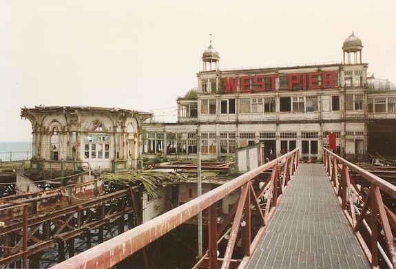 Brighton's West Pier in 1997