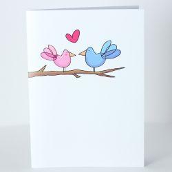 Little Lovebirds via indieBerries