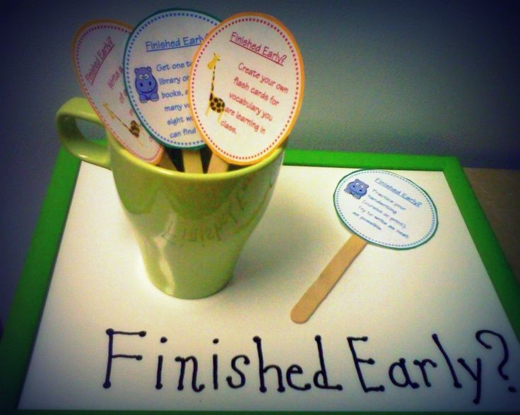 Teacher's Pet – Ideas & Inspiration for Early Years (EYFS), Key Stage 1 (KS1) and Key Stage 2 (KS2) | I'm Finished – tasks