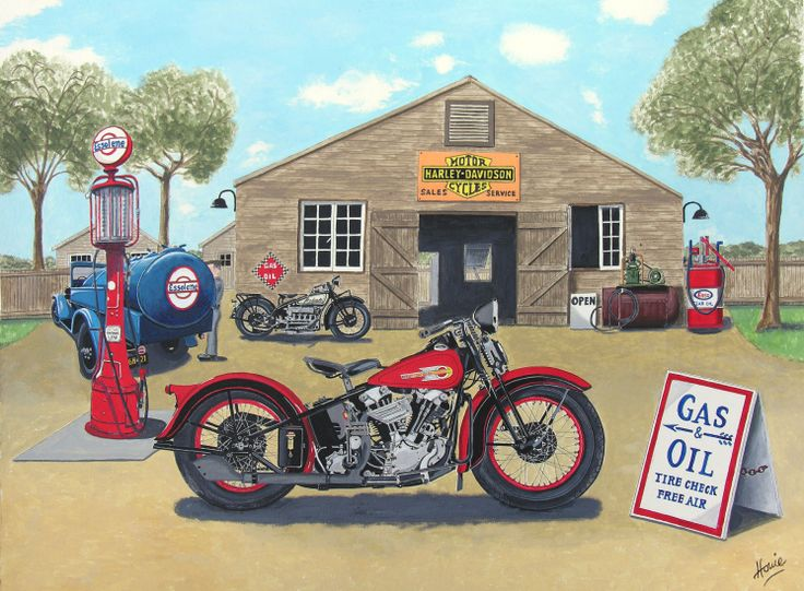 """The Old Harley Shop"""