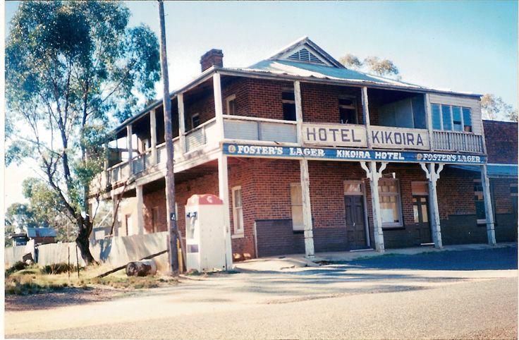 Bush pubs - The old Kikoira Hotel, Central NSW, Australia