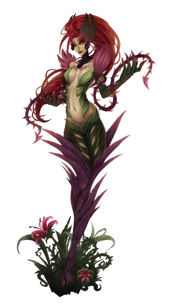 Zyra League of Legends Champion Artwork