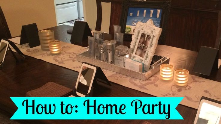 How To Do A Home Party Selling Instantly Ageless and Luminesce Skincare