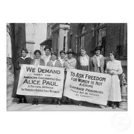 a discussion on womens suffrage movement Upstate, downstate: the women's movement  don't forget to check out the support materials tab underneath the video for discussion  this anti-suffrage postcard.