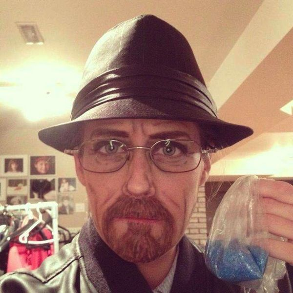 Amazing Makeup Turns Woman Into Walter White, Jack Sparrow And More [Cosplay]
