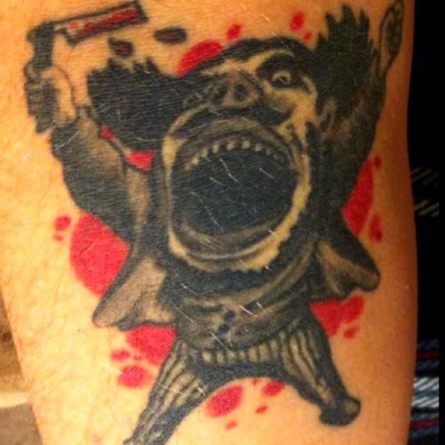 26 best hiya b man images on pinterest joker jokers for Sweeney todd tattoo
