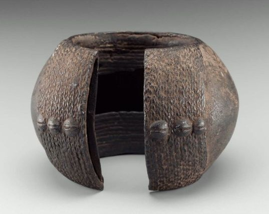 Africa | Côte d'Ivoire, Dan peoples, 20th century | Copper alloy
