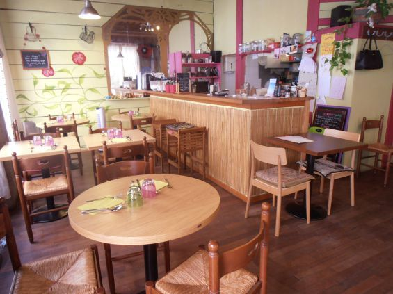 Restaurant Jardin Intérieur Lyon Croix Rousse - Vegan - bio - local et artisanal