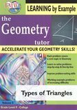 The Geometry Tutor: Types of Triangles [DVD] [English] [2010]