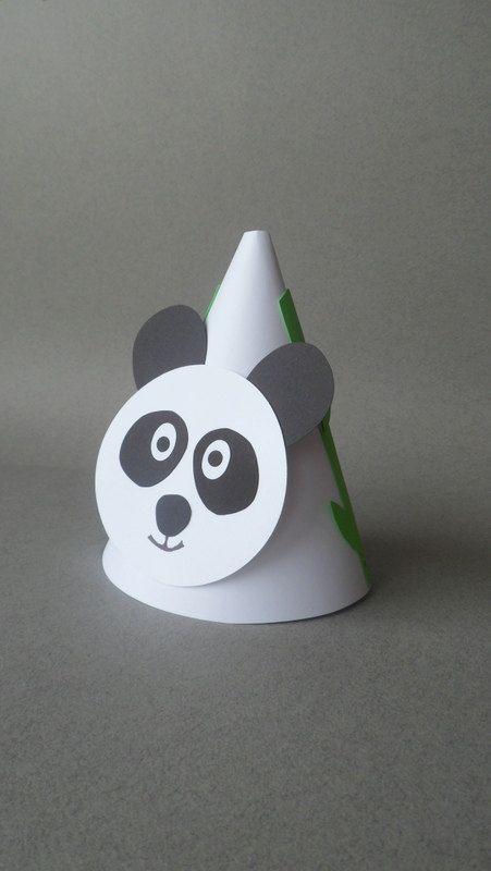 Panda Theme Party Hats