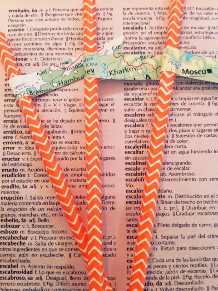 Pajitas con Banderines! www.tiendadoilies.com.ar