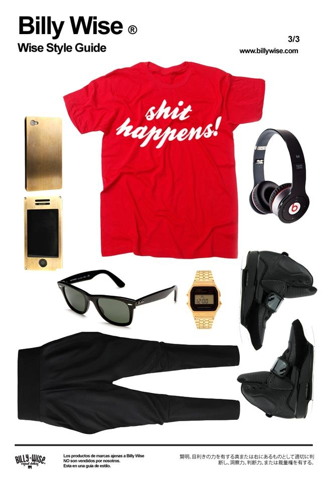 """""""Shit Happens!"""" outfit from us to you"""