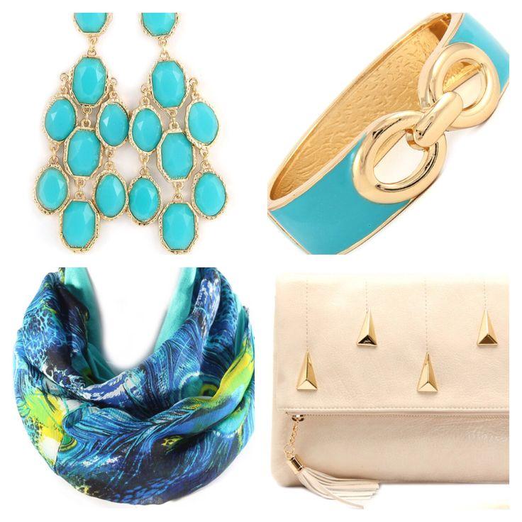Splash of Blue! Join us at www.facebook.com/TeaAndElle for 25% off EVERYTHING!