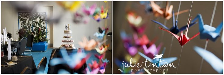 Paper cranes everywhere! Wedding origami FTW!Wedding Parties, Origami Ftw, Don T Judges, Paper Cranes, Obsession Spaces, Alecia Wizards, Diy Decor, Bridal Diy, Spaces Don T