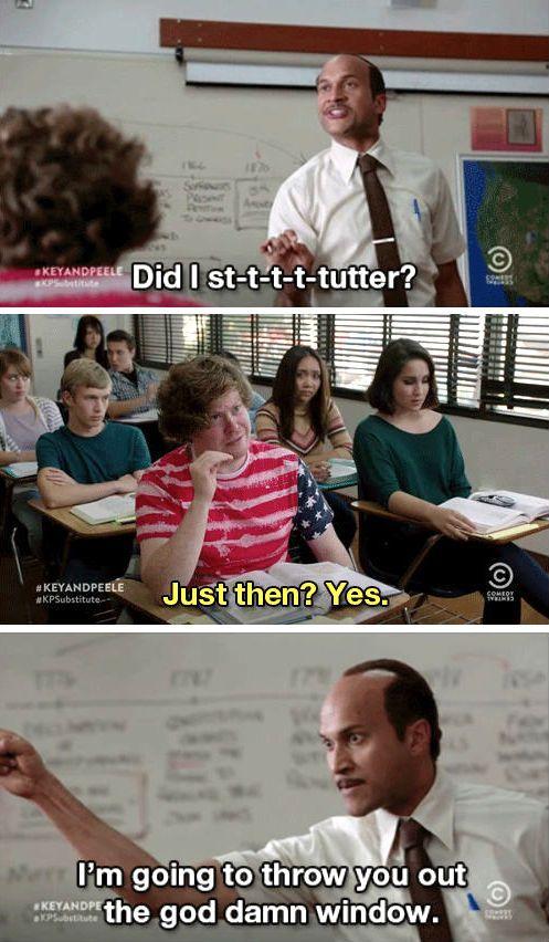 Key & Peele (Substitute Teacher)