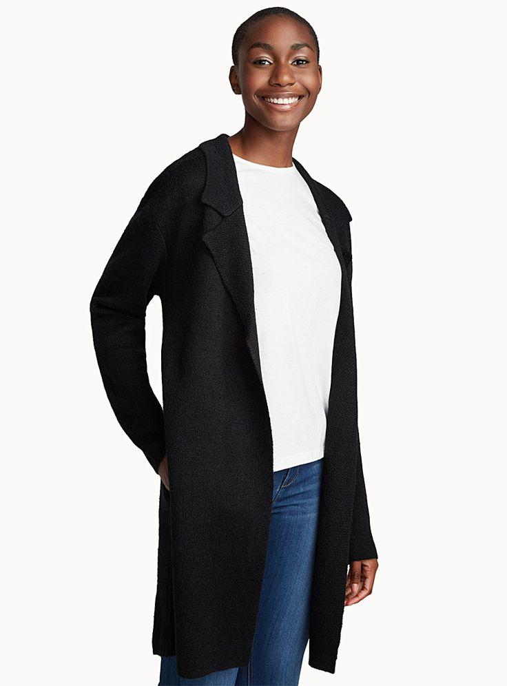 Jacket-like cardigan | Twik | Shop Women's Cardigans | Simons