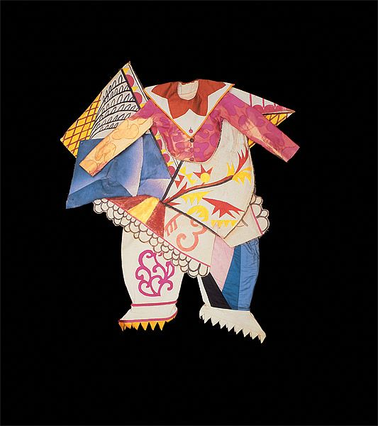 LARIONOV , Mikhail LES BALLETS RUSSES DE SERGE DIAGHILEV |Costume for a buffoon's wife