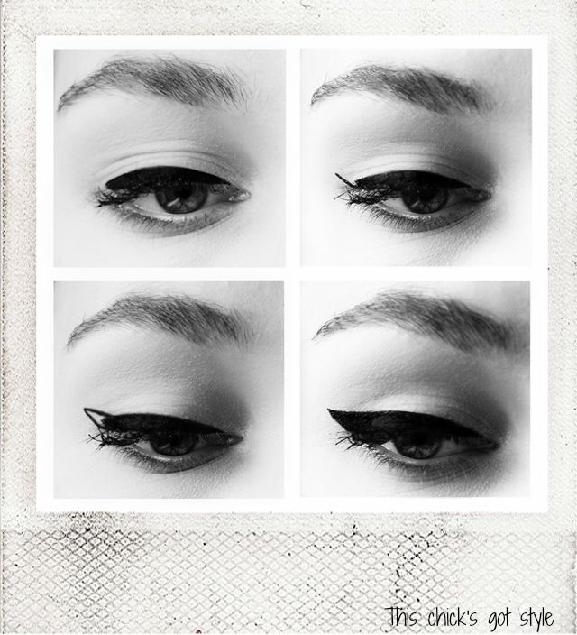 DIY: My Easy Winged Eyeliner Tutorial (pic) http://sulia.com/my_thoughts/407c6098-8302-47a3-957a-0cb57d3a85d1/?source=pin&action=share&btn=big&form_factor=desktop