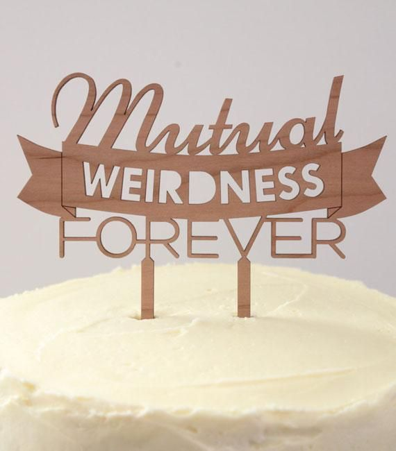 Best 25 wedding cake toppers ideas on pinterest cake toppers mutual weirdness forever timber wedding cake topper rustic country woodland garden quirky australia junglespirit Gallery