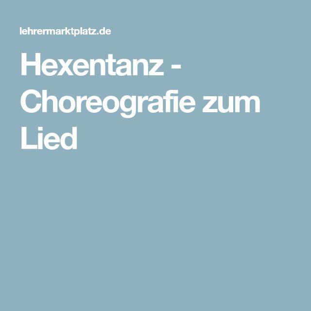 Hexentanz - Choreografie zum Lied