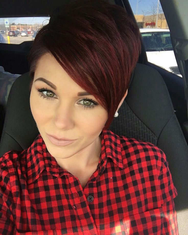 #shorthair #pixie #redhair