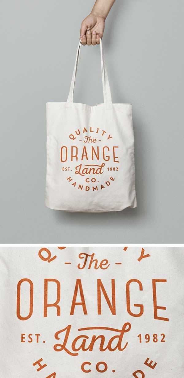 Free White Bag Mockup