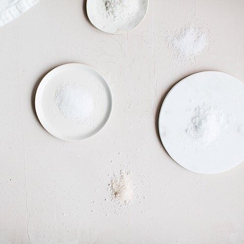 ILA | Salt - pink peruvian, cyprus flake and Sel de Geurande  Hand harvested   Now available on kickstarter here https://www.kickstarter.com/projects/180473509/ila-essentials-for-a-beautiful-home-by-sunday-supp