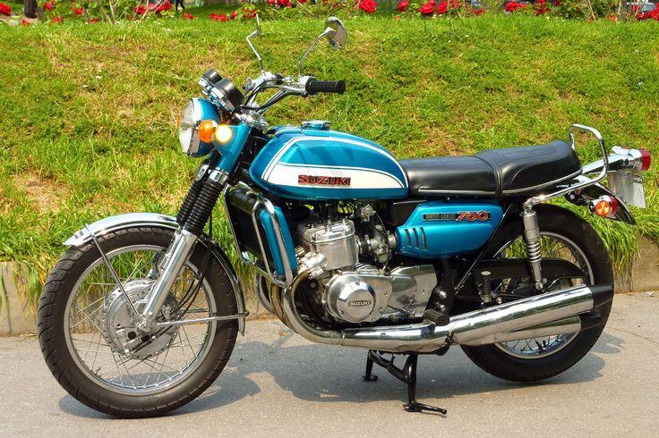 1972 Suzuki Gt750 Vintage Motorcycle Poster Print Style C 24x36 9 Mil Paper Ebay Vintage Motorcycle Posters Suzuki Bikes Suzuki Gt 750