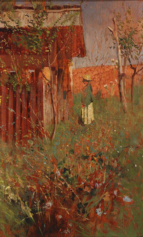 Boy at apiary by Ladislav Mednyánszky, 1890/1900. Slovak national gallery, CC BY