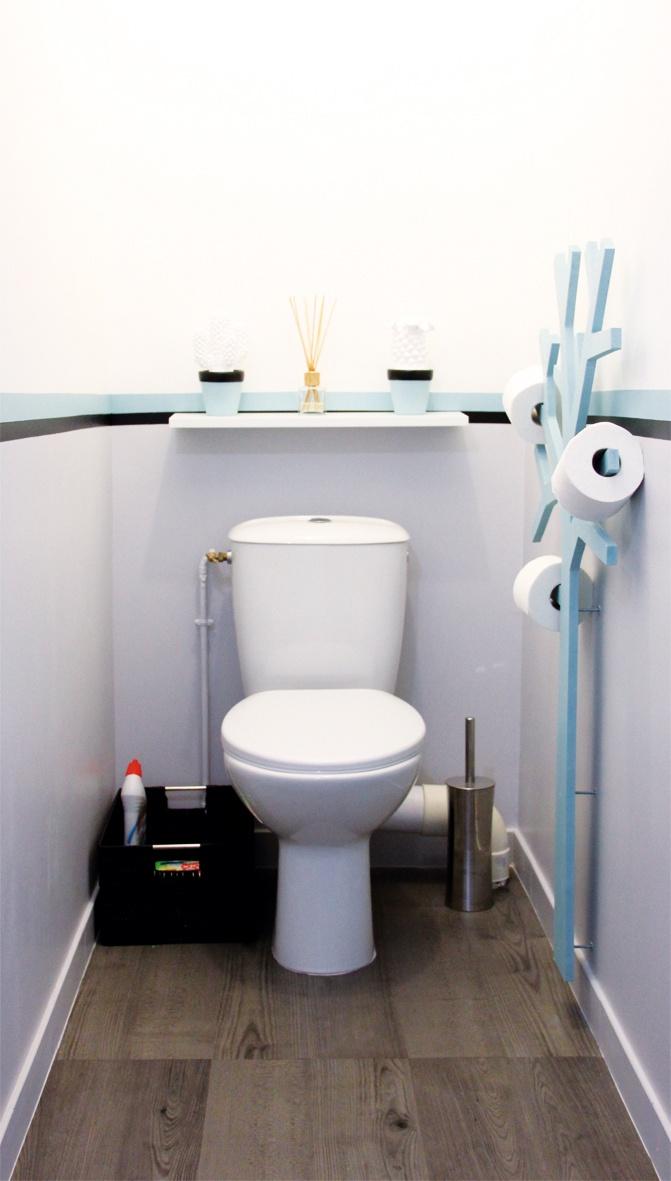Minigougue le petit coin id e retenir le pq tier inspir de presse citron bathroom - Kleur wc deco ...