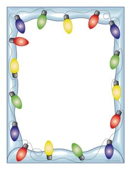 Lights — fun paper is a great incentive for student writing