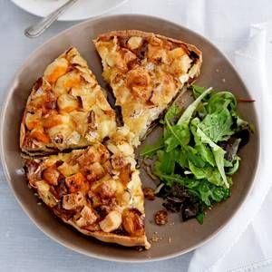 Franse kaas quiche (3 soorten kaas) !