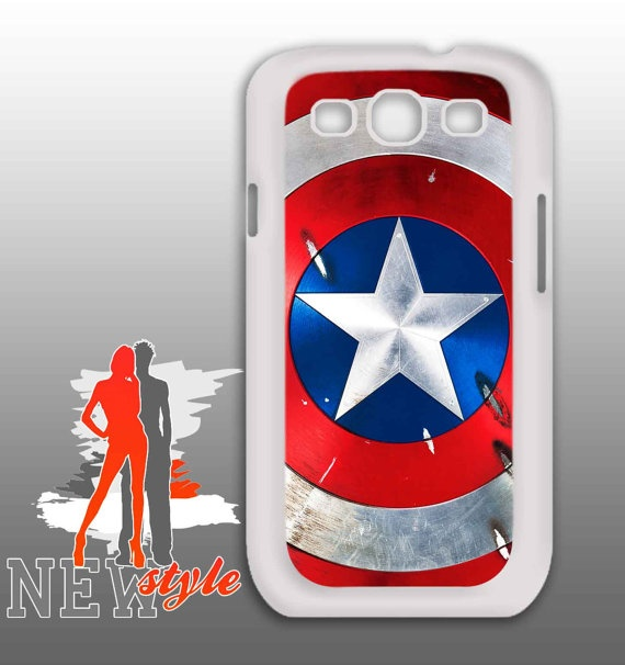 samsung galaxy  Captain America Shield  samsung by NewStyleDesign, $16.50