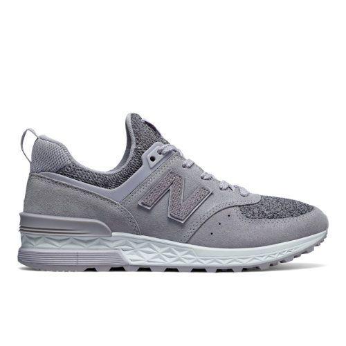 574 Sport Women's Sport Style Shoes - Purple/Grey (WS574THI)