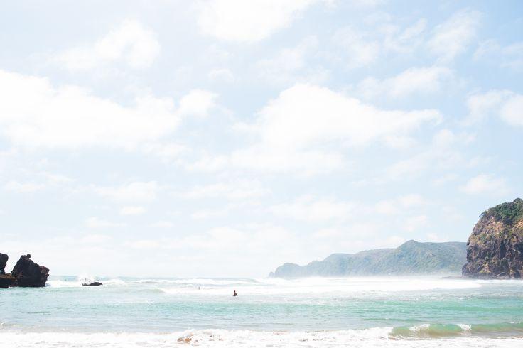 Surf Blue Sky Piha Sun Summer Newzealand Auckland.jpg
