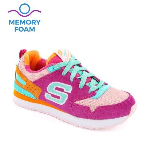 Pantofi sport fete Retrospect Hot Pink - Skechers