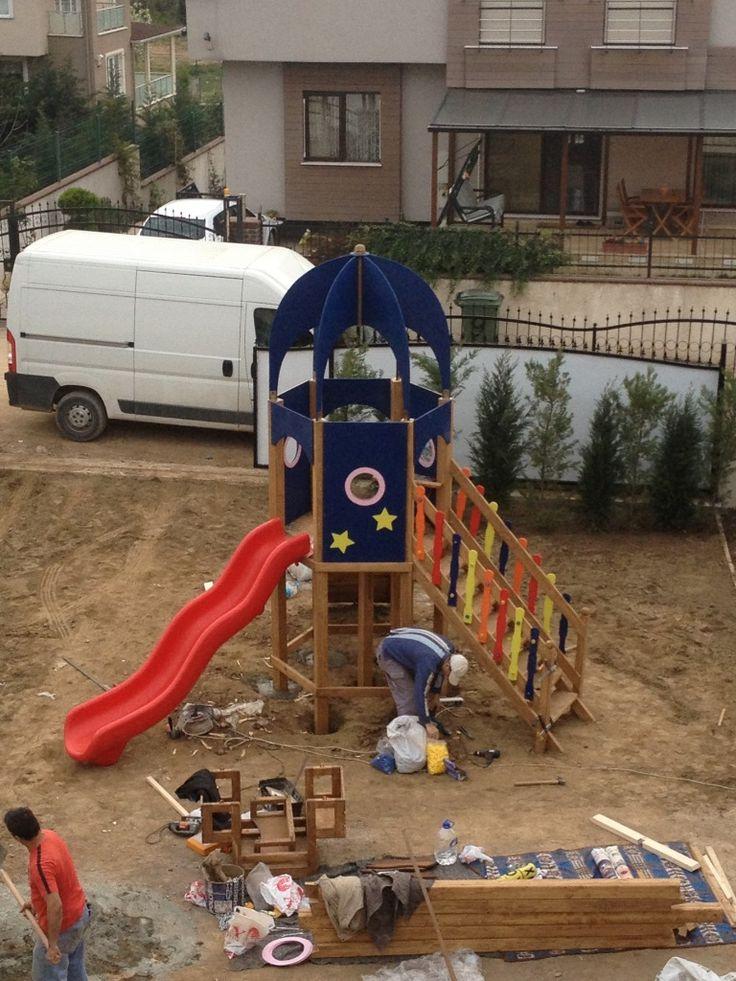 Uzay Mekiği Oyun Parkı,Ay-Go, Ahşap Oyun Parkları,Ay Geliştirici Oyuncaklar - Bursa