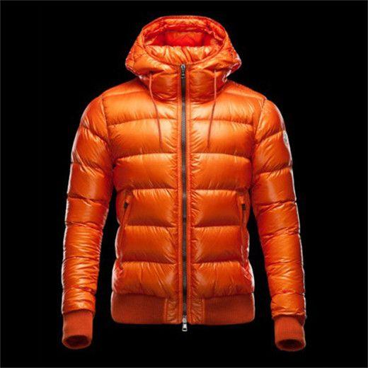 marque de luxe Doudoune Homme Marque Orange pas cher