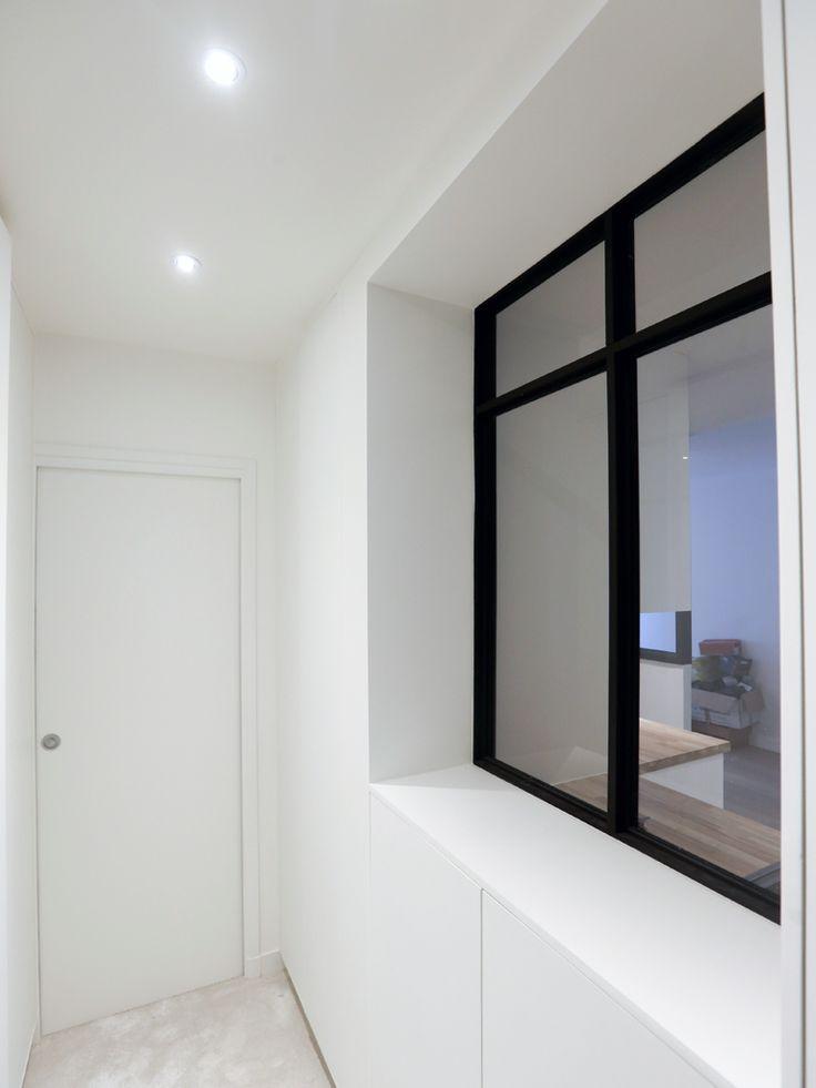 les 11 meilleures images du tableau r novation d 39 un appartement moderne paris xvii sur. Black Bedroom Furniture Sets. Home Design Ideas